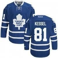 Phil Kessel Maple Leafs #81 Blue Stitched NHL Hockey Jersey