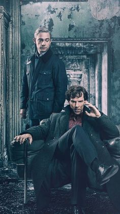 Sherlock, I don't think you can talk about any category of TV without mentioning the brilliant Sherlock, Benedict Cumberbatch as Sherlock Holmes and Martin Freeman as Doctor John Watson. Sherlock Fandom, Sherlock Holmes Bbc, Shinee Sherlock, Sherlock Holmes Dibujos, Sherlock Holmes Quotes, Funny Sherlock, Watson Sherlock, Sherlock Season 5, Sherlock Poster