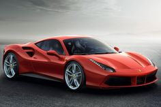 It's hard to believe the Ferrari 458 is already a thing of the past and in its place is the all-new Ferrari 488 GTB. The brand's iconic first-ever mid-rear 308 GTB berlinetta was launched 40 years ago and now the 488 GTB opens a new Ferrari Italia 458, Ferrari 488 Gtb, Carros Ferrari, Carros Vw, New Ferrari, Ferrari 2017, Cool Sports Cars, Sport Cars, Cool Cars
