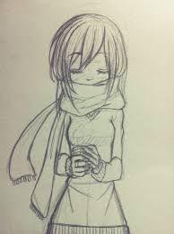 Resultado de imagen para como dibujar un bufanda