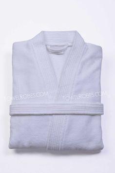Terry Velour Kimono Bathrobe
