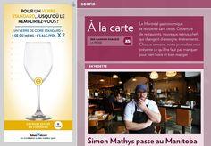 Le Montréal gastronomique se réinvente sans cesse. Ouverture de restaurants, nouveaux menus, chefs qui changent d'enseigne, événements… Chaque semaine, notre journaliste vous présente ce qu'il ne faut pas manquer pour bien boire et bien mange