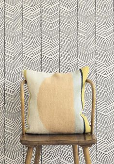 ferm LIVING Wallpaper (Herringbone)