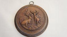 Vintage Deer Copper Mould by SycamoreVintage on Etsy, $34.00