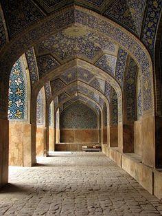 Shah Mosque in Esfahan, Iran.