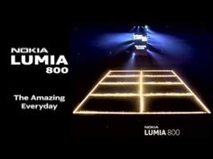 Tiles on fire! Nokia Lumia launch in Copenhagen