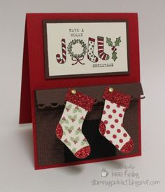 Festive & Fun Christmas Card by LorriHeiling - Cards and Paper Crafts at Splitcoaststampers