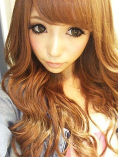 gyaru makeup & hair - mecha kawaii <3