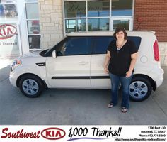 #HappyAnniversary to Cabel Hibler on your 2013 #Kia #Soul from Everyone at Southwest KIA Rockwall!