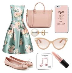 """""""Inspired By Amber Von Tussle (Hairspray)"""" by galaxy-heart on Polyvore featuring Salvatore Ferragamo, Valentino and MAC Cosmetics"""