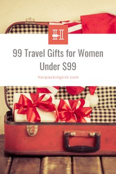 End your search right here! This comprehensive list of 99 gifts for women who travel, all under $99, will be sure to tick some names off your shopping list. #holidayshopping #giftsfortravellovers #travelgifts #giftsforher #hplworld Travel Shoes, Travel Jewelry, Mighty Wallet, Her Packing List, Map Puzzle, Engineer Prints, Jewelry Roll, Macbook Decal, Reusable Shopping Bags