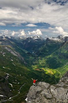 Geirangerfjord, Norway ~ UNESCO World Heritage Site.