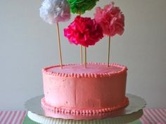 Lemon and Raspberry Birthday Cake with Swiss Meringue Frosting