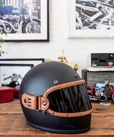 ATO WHG Vintage Motorcycle Helmet with Goggles Matt Wehrmacht Style Helmet Camouflage or Black