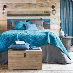 Testata da letto in listelli di mango 160 cm | Maisons du Monde