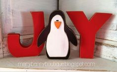 Maryberry Boutique - Joy with a Penguin O