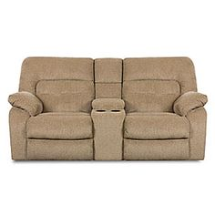 Double Reclining Loveseat With A Center Console Great