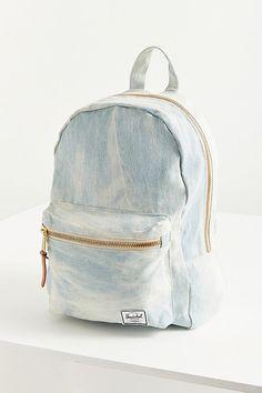 Grove Bleached Denim Backpack Denim Backpack d83783bec2865