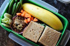 Healthy lunchbox idea.