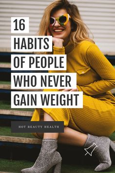 Need to lose weight quickly? Following these healthy habits will help you with your weight loss goals and keep it off. Here are 16 good habits of skinny people who maintains a healthy lifestyle. Health And Wellness Quotes, Wellness Tips, Health And Wellbeing, Health Tips, Health Fitness, Lose Weight In Your Face, Lose Weight In A Month, Need To Lose Weight, Good Habits