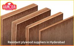 Resistant plywood suppliers in Hyderabad http://www.aamodaply.com/