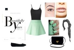 """School"" by rainy554 ❤ liked on Polyvore featuring Sonam Life, RED Valentino, Topshop, LASplash, cute, school and girly"