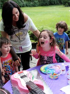 Real Birthday Parties: Party Like a Rock Star