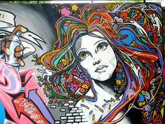 Faith47, Can2 and Ment1,Exhibit 'Fine Art at MUBE' (Street art), Brazilian