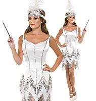 Dazzle Flapper - Adult Costume Fancy Dress