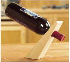 BAIXAR PARA FAZER EM CASA: suporte para garrafa de vinho