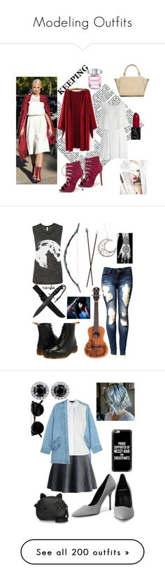 Modeling Outfits by thehaleyfiles on Polyvore featuring polyvore, fashion, style, Bebe, Limited Edition, Chicwish, Wallis, clothing, Luna, Dr. Martens, Steve J & Yoni P, Alexander Wang, Pierre Hardy, Loungefly, Casetify, Topshop, George, Manolo Blahnik, Jessica Simpson, Ström, Glamorous, Aéropostale, rag & bone, KINNO, Sara M. Lyons, Pierre Balmain, myfavorite, adidas Originals, Bobbi Brown Cosmetics, Marc by Marc Jacobs, Molami, Sheinside, shein, beauty, True Decadence, Lime Crime…