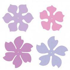 Couper Waves fleurs - CP
