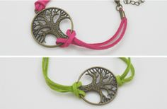 Tree of Life Suede Bracelets 47% off at Groopdealz