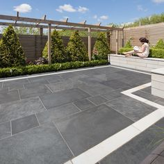 Marshalls have over 120 years experience providing attractive natural stone garden paving & block driveways all available in a range of colours & finishes!