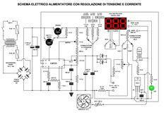 GRIX.IT :: Alimentatore da laboratorio con LM723, regolazione della tensione, corrente e protezione dai corto circuiti.