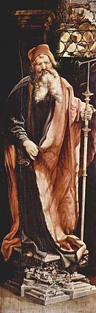 ANTONIOS EGYPTILÄINEN ✦ n. 251-365. Halusi seurata Jeesuksen esimerkkiä yksinkertaisesta elämästä, joten antoi omaisuutensa köyhille ja erakoitui autiomaahan. Hän niitti mainetta opettajana ja hänen ympärilleen kehittyi erakkoyhteisö, jossa rukoiltiin ja mietiskeltiin yksin, mutta vietettiin yhteinen jumalanpalvelus - kyseessä siis varhainen luostarilaitos.