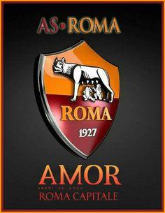 As Roma logo As Roma, Soccer Logo, Sports Logo, Totti Roma, Barcelona Futbol Club, Ammo Crafts, Soccer World, Manchester City, Golf Clubs