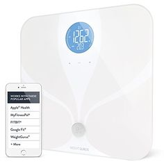Weight Gurus Wifi Smart Connected Body Fat Bathroom Scale w/ Backlit LCD, ITO Conductive Surface Technology, Accurate Precision Health Alerts, Measurements, and Monitoring -  http://www.wahmmo.com/weight-gurus-wifi-smart-connected-body-fat-bathroom-scale-w-backlit-lcd-ito-conductive-surface-technology-accurate-precision-health-alerts-measurements-and-monitoring/ -  - WAHMMO