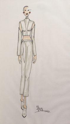 Magdalena Borowicz #mskpu #fashion #forcos #simple #modern #fashionsketch #fashionillustration #raiseyourself #drawing #art
