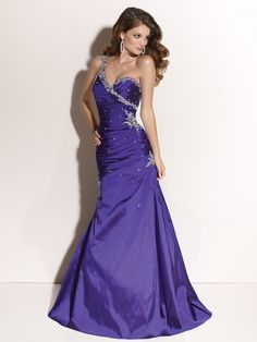 Size 24 Deep Purple In StockDazzling Paparazzi prom dress 91011. This silky taffeta prom dress features a beaded one shoulder strap, sweetheart neckline with beaded trim, ruched and beaded bodice, and lace up back. Completing the look of this prom dress is a fit and flare skirt. Make this sparkly dress perfect for your special event.