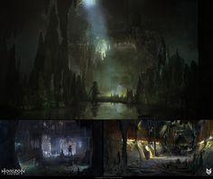 ArtStation - Horizon: Zero Dawn - Bunker concepts, Lloyd Allan