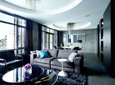 Elizabeth Bay Apartment Location: Elizabeth Bay, Sydney, Australia Interior Designer: Greg Natale Design