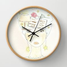 Read the thoughts Wall Clock by Donnedispirito - $30.00