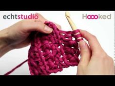 How to crochet the star stitch)