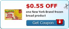 $0.55 off one New York Brand frozen bread product
