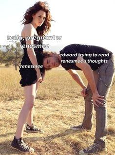 Twilight Saga Quotes, Twilight Jokes, Twilight Saga Series, Twilight Pictures, Twilight Series, Twilight Movie, Vampire Twilight, Edward Bella, Twilight Bella And Edward
