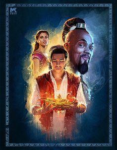 ArtStation - Aladdin 2019 - Splash Art, Mayank Kumarr Film Aladdin, Aladdin Art, Aladdin Live, Watch Aladdin, Disney Nerd, Cute Disney, Disney Pixar, Aladdin Wallpaper, Disney Wallpaper