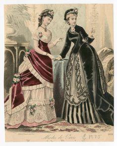 1875-76 Women   Plate 013 :: Costume Institute Fashion Plates libmma.contentdm.oclc.org