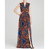 Alice + Olivia Maxi Dress - Marianna Printed