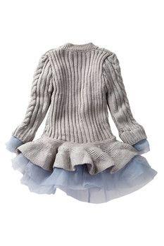 Paulinie Flounce Sweater Tutu Dress (Toddler, Little Girls, & Big Girls)